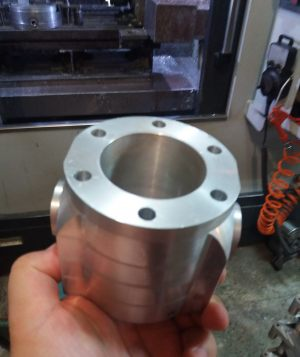 Two blade prop workpiece