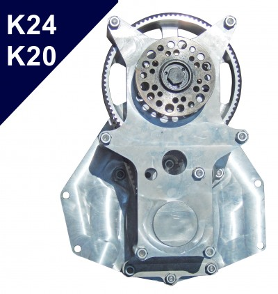 Belt Reduction Drive R-K24 conversion kits for Honda K24, K20 engines