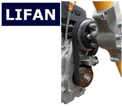 Редуктор ременной R-L30 для конверсии двигателей LIFAN